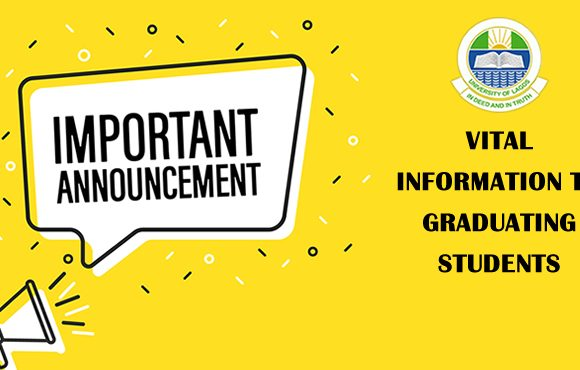 VITAL INFORMATION TO GRADUATING STUDENTS