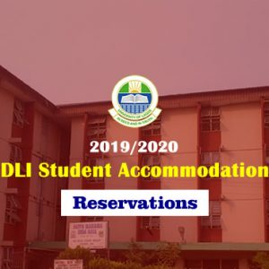 DLI STUDENT ACCOMMODATION RESERVATIONS (MALE & FEMALE)
