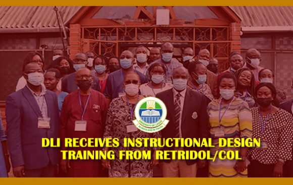 DLI RECEIVES INSTRUCTIONAL DESIGN TRAINING FROM RETRIDOL/COL
